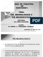 Pie Neurologico y Neuropatico