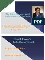 Minority Health -- Alzheimer's