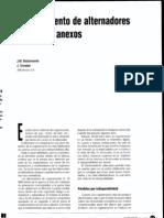 Mantenimientoo de Alternadores y Sistemas Anexos