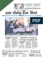 The Daily Tar Heel for January 30, 2012