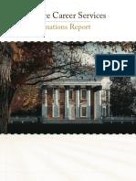 Destinations Report 2011