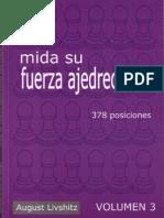 August Livshitz - Mida Su Fuerza Ajedrecistica Vol 3 (378 Positions)