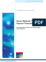 7 Methods to Improve Forecasting Accuracy