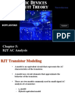 Chapter5 BJT AC Analysis