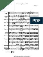 Bach Brandenburg Concerto No1 Part 1