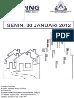 Scan Kliping Berita Perumahan Rakyat 30 Januari 2012