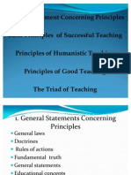 Principles of Teaching....Final
