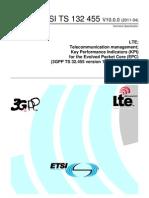 LTE EPC KPI