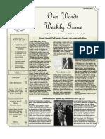 Newsletter Volume 4 Issue 05
