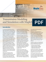 Transmission Modeling and Simulation With MapleSim
