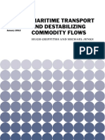 Maritime Transport and Destabilizing Commodity Flows