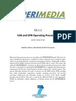 D5.1.1 EAB and DPB Operating Procedures v1.01