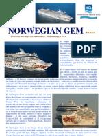CruceroClick Com - NORWEGIAN GEM - Dossier Presentación Buque