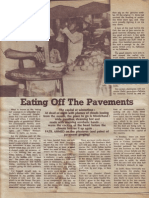 Eating of the Pavment