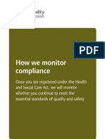 CQC Quick Guide to Compliance Monitoring Final for Web