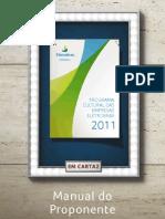 Manual Do Proponente Programa Cultural Das Empresas Eletrobras 2011