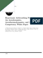 J. Philip Drummond et al- Hypersonic Airbreathing Propulsion