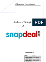 SnapDeal SMC Assignment Group A12