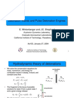 E. Wintenberger and J.E. Shepherd- Detonation Waves and Pulse Detonation Engines