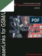 Laser Links in GSM Networks 09 03