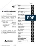 Mitsibushi Galant 96 02 Workshop Manual
