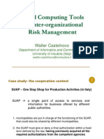 Social Computing Tools for Risk Management