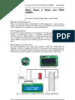 Controlo Motor PP Com PSOC CY8C27643 ULN2803