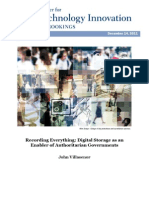 Recording Everything Digital Storage as an Enabler of Authoritarian Governments by John Villasenor