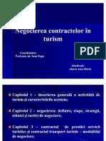Negocierea contractelor în turism