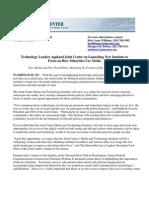 MTI FINAL Press Release 111308