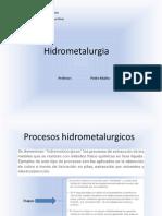 Hidrometalurgia Pia 58162
