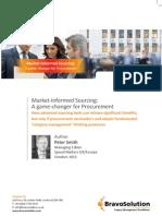 Market Informed Sourcing Bravo