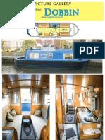 26ft Springer cruiser stern narrowboat for sale