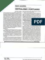 El fin del Centralismo Portuario