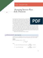 Interest Rate Risk Computation
