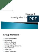 Investigative Report Ppt Final