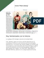 """DOA, musica de Galicia, """"A fronda dos cervos"""" Revista Alemana """"Rhein-Zeitung"""" Por """"Frank Blum"""""""