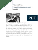 23 de enero de 1958 selló el inicio de la democracia en Venezuela