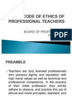 Code of Ethics Power