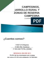 """CAMPESINOS, DESARROLLO RURAL Y GESTIÃ""""N DEL TERRITORIOpptx"""