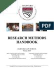 2010 Research Methods Handbook