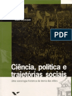 Mario Grynszpan, Uma sociologia histórica da teoria das elites