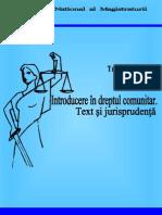 Introduce Re in Dreptul Comunitar.text Si Jurisprudenta