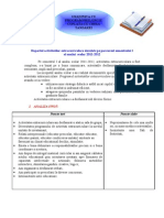 raport proiecte-programe