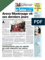 Areva Montrouge Vit Ses Derniers Jours