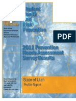 Utah Student Health and Risk Prevention 2011 Needs Assessment Survey