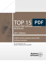 Top 15 Cloud Crm