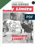 City Limits Magazine, April 1990 Issue