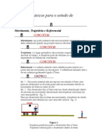 Conceitos básicos para o estudo de movimentos- fisica
