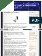 01/29/12 Update - Stock Market Trends & Observations